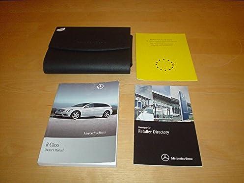 mercedes benz w251 r class owners manual handbook r300 r350 r500 rh amazon co uk Mercedes G-Class Mercedes G-Class