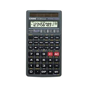 Casio FX-260Solar Scientific Calculator Solar Powered FX260SLR-SCHL-IH