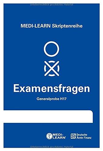 MEDI-LEARN Skriptenreihe: Generalproben H17 - Physikum