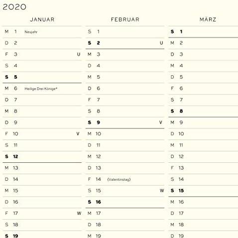 LEUCHTTURM1917 360035 Monatsplaner mit Notizbuch Composition (B5) 2020, Schwarz, Deutsch