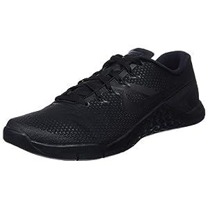 Nike Men's Metcon 4 Training Shoe Black/Black-Black-Hyper Crimson 12.0