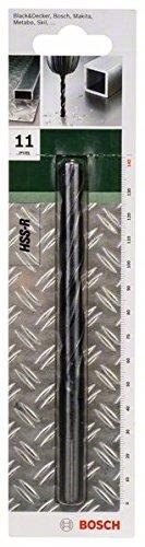 Bosch 2609255004 Set de 2 Forets /à m/étaux lamin/és HSS-R DIN 338 Longueur 61 mm Diam/ètre 3 mm