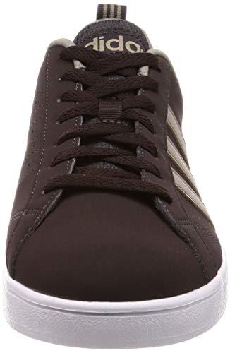 Adidas De White Chaussures Brown White Marron Vs Night Advantage Tennis simple Homme night Brown ftwr rqtr6x
