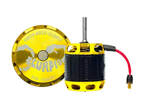 500 Class Helicopter - Scorpion HKIV-4025-520KV Brushless Motor - 500~600 Class Helicopters