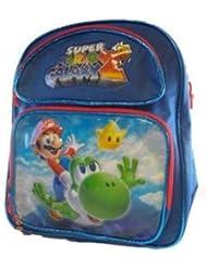 Super Mario Galaxy Small BackPack - Mario and Yoshi Small School Bag