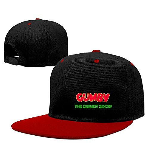 The Gumby Show Clay Animation Franchise Dri-fit Logo Print Collectible Hip Hop Baseball (Gumby Hat)