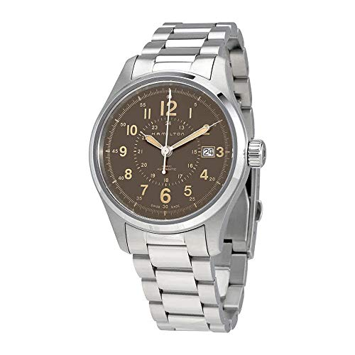 Hamilton Khaki Field Automatic Brown Dial Men's Watch H70305193 ()