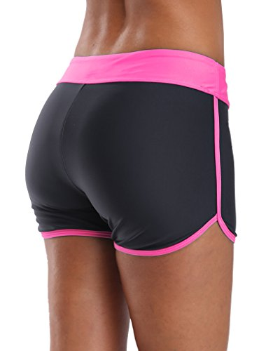 Sociala Women S Boyleg Swim Shorts Swimsuit Tankini
