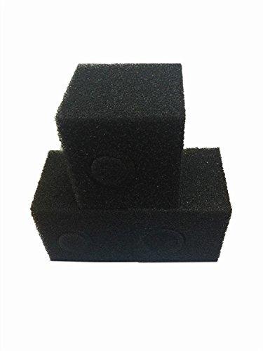Ltwhome 6 inch coarse pond filter foam cube block pump for Pond pump filter sponge