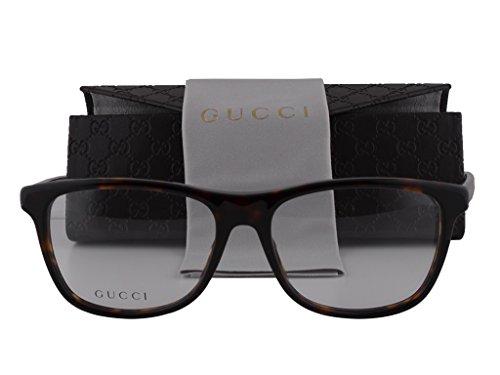 Gucci GG 3725 Eyeglasses Havana 52-15-140 WZ3 GG3725