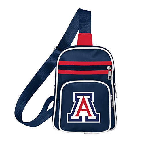 NCAA Arizona Wildcats Mini Cross Sling Bag (Arizona Wildcats Bag)