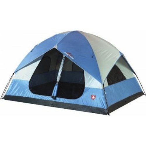 Suisse Sport Yosemite 5 Person 2 Room Dome Tent 10′ x 8′, Outdoor Stuffs