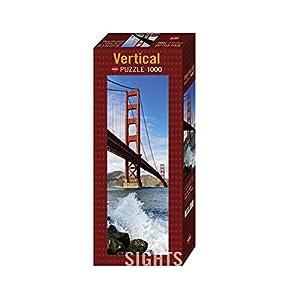 Heye Puzzle Verticale Golden Gate Bridge 1000 Pezzi 33 X 95 Cm Vd 29669