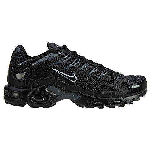 Nike Air Max Plus Livsstil Mode Sneakers Herre Sort Nye 852630-015 Sort / Sort / Ren Platin LkBMae3XF