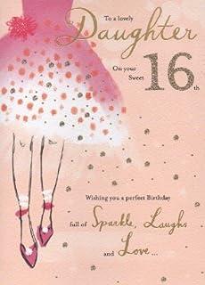 Daughter 16th Birthday Card