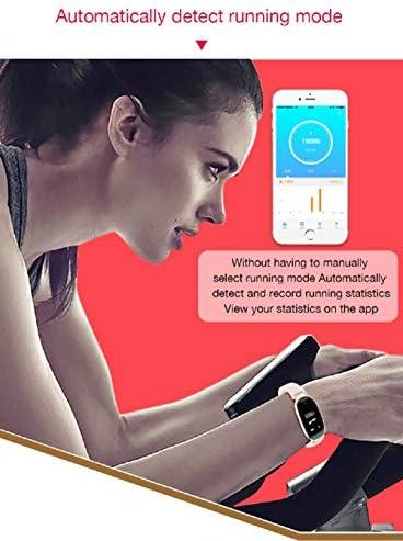 OMJNH Montre Femme, Montre Intelligente avec la Surveillance du Sommeil Step-up et la Fonction écran Lumineux, adapté pour Android, la Plate-Forme iOS