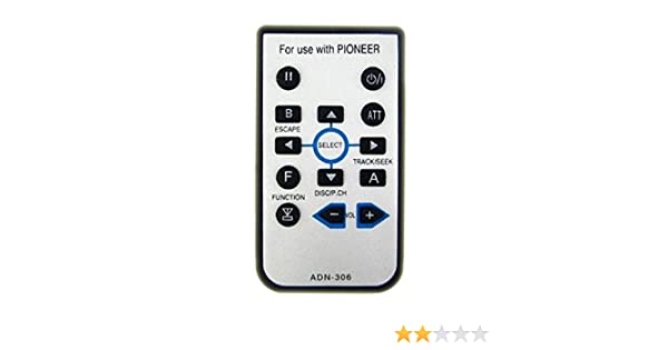 New AUTO STEREO REMOTE CONTROL for PIONEER AVIC-8100NEX Player