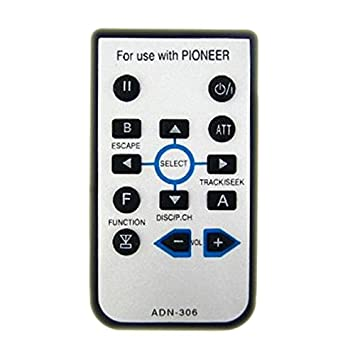 41WuBdKrOlL._SY355_ amazon com remote control for pioneer avh p4000dvd avh p4100dvd  at bakdesigns.co