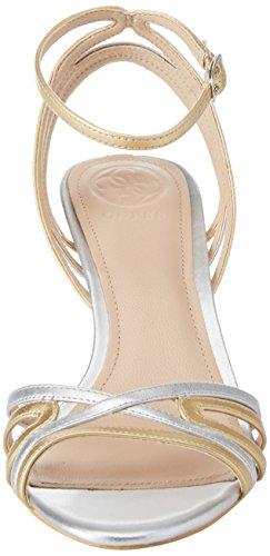 alla Donna Guess Oro Caviglia Dress con Footwear Sandal Scarpe Cinturino wA64qHa