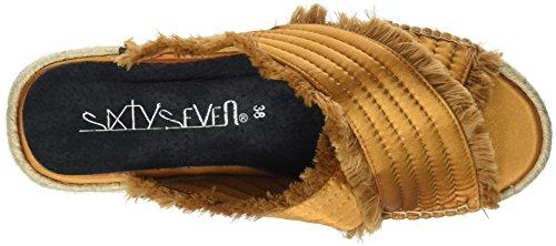 Or Seven Adiva Ocre Femme Thread C40198 Satin Tongs Sixty Ocre xIHqZPZ