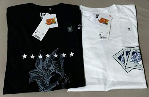 Mサイズ 遊戯王 ブラックマジシャン 青眼の白龍 Tシャツ UT ユニクロ×週刊少年ジャンプ UNIQLO 50周年 JUMP ブルーアイズ M  2枚セット