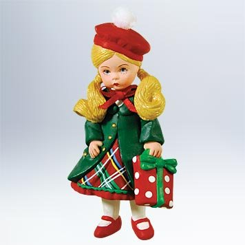 1 X Hallmark Ornament 2011 Yuletide Shopper Madame Alexander - QX8827 by Hallmark Keepsakes