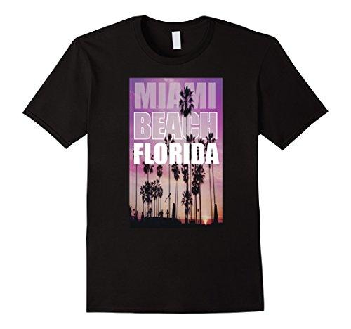 Florida Miami Beach Art Tee - Palm Beach West Fit U