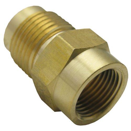 Brass Female Flare - LASCO 17-5853 1/2-Inch Female Flare X 5/8-Inch Male Flare Brass Adapter