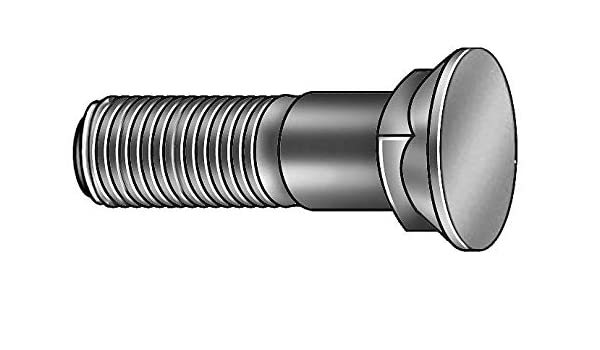 3//8-16 Thread Size Number 3 Square-Neck Flat Head Plow Bolts 1 Long