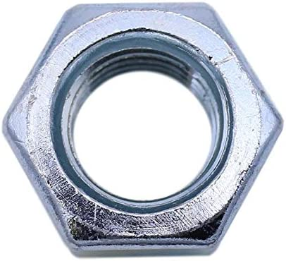 U-Turn 7//16-14 Hex Nut Zinc Plated SAE J995 Grade 2 25 Count
