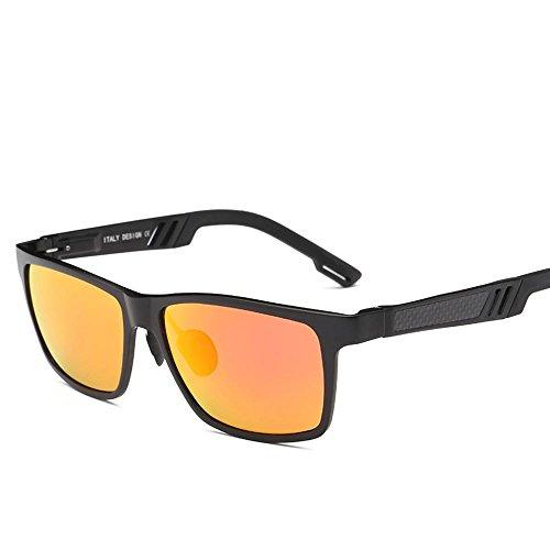 clima magnesio C conducción todo de color de gafas sol polarizado de hombres de gafas de gafas haixin sol Aluminio conducción gafas tipo de fw5q6xB1