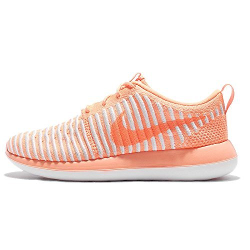 sports shoes a6dbe 7b962 Galleon - Nike Womens Roshe Two Flyknit Running Trainers 844929 Sneakers  Shoes (UK 4 US 6.5 EU 37.5, Peach Cream 800)
