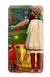 Fashion BGFjzxJ7195tNKcK Case Cover For Galaxy Note 3(milk And Cookies )