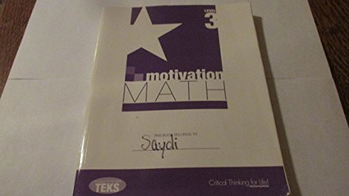 Motivational Math Level 3