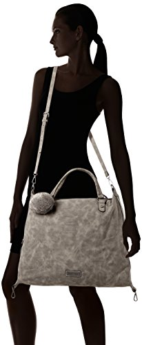 Marco Shoppers Tozzi Dk grey y Antic hombro Gris 61024 bolsos Mujer de rOrqUZFWB