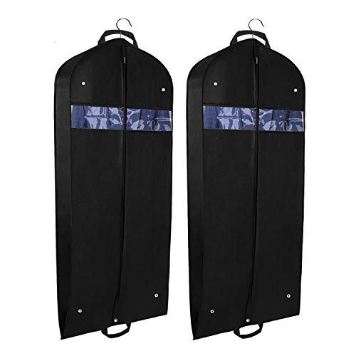 jiuhongxing Non-Woven Suit Garment Bag for Storage and Travel