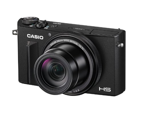 Casio Premium High Speed EX-100 (Black) Digital Camera with 12.1MP with 10.7x Optical Zoom with 3.5-Inch Super Clear LCD