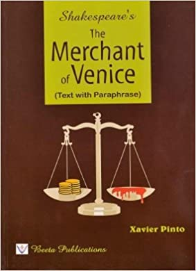 merchant of venice paraphrase by xavier pinto
