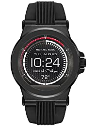 Access, Men's Smartwatch, Dylan Black-Tone Stainless Steel with Silicone, MKT5011