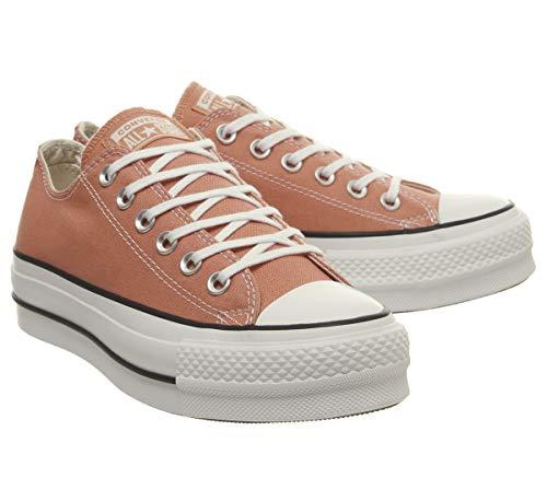Chuck desert Marfil Zapatillas Para Taylor 000 Peach Stars All black white Mujer Converse x4qwUx