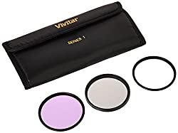 Image of the product Vivitar 3 Piece Filter that is listed on the catalogue brand of Vivitar.