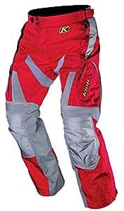 Klim Dakar Men's Motocross Motorcycle Pants - Red / Size 32