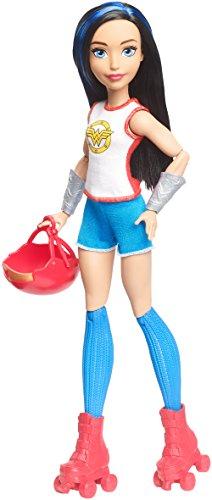 - DC Super Hero Girls Wonder Woman Roller Derby Doll