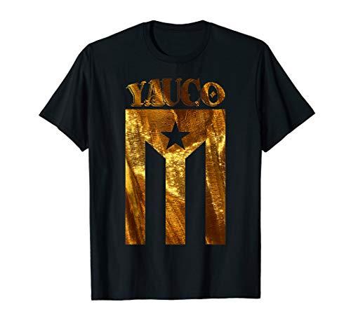 Puerto Rican Yauco Gold Boricua, Puerto Rico Flag Shirt