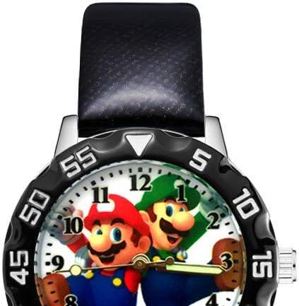 YUNMEI Super Mario Montres Fashion Cute Pretty Mario Style Montres Enfants Étudiant Filles Garçons Regarder