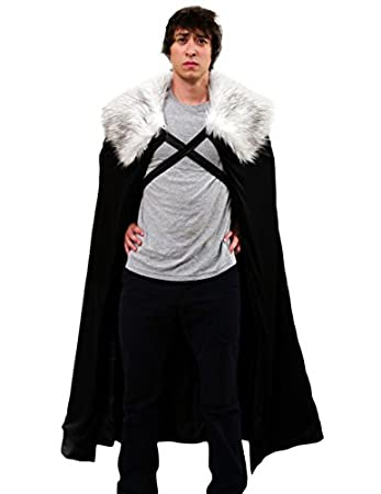 Winter Snow Lord Cloak Cape Costume