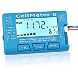 WINGONEER Digital RC Battery Capacity Tester with