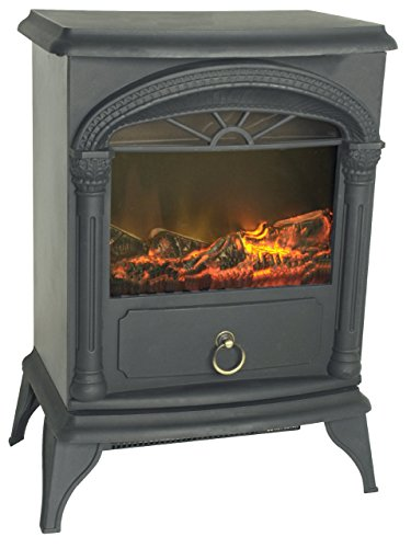 Well Traveled Fire Sense Vernon Electric Fireplace Stove