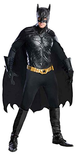 UHC Men's Marvel Batman The Dark Knight Grand Heritage Halloween Costume, Medium (38-40) (Plus Size Marvel Costumes)