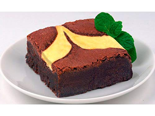 - Davids Cookies Uniced Cheese Cake Brownie, 4 Ounce -- 48 per case.
